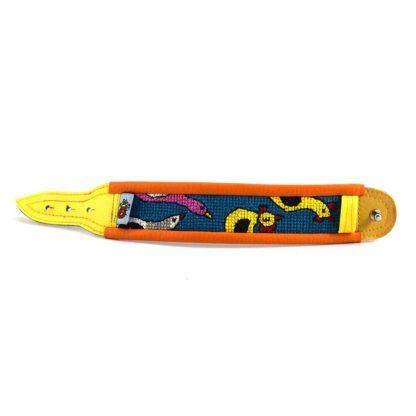 Narancssárga baromfis karkötő