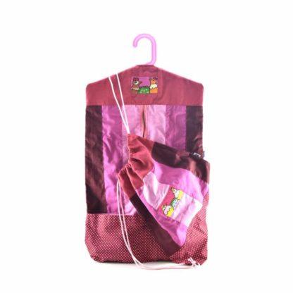 Rózsaszín bölcsis-ovis szett