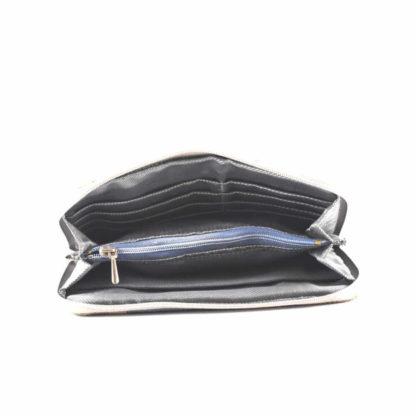Barna-kék napocskás pénztárca