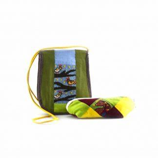 Zöld pónis-madaras ajándékcsomag