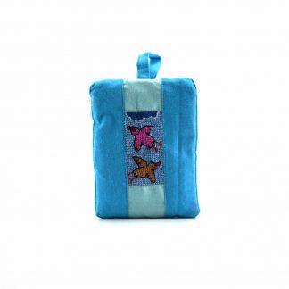 Kék kismadaras pikk-pakk táska