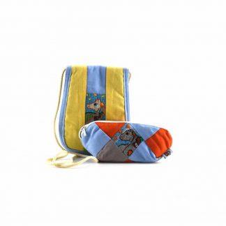 Kék-sárga pónis ajándékcsomag