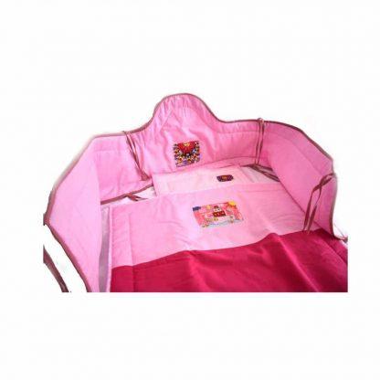 Rózsaszín napos babakelengye