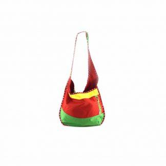 Zöld-piros baromfis hobbi táska
