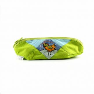 Zöld kiskakasos tolltartó