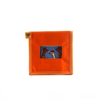 Narancs baromfis mobil töltő tartó