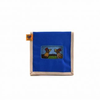 Kék csibepáros mobil töltő tartó