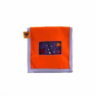 Narancs kismadaras mobil töltő tartó