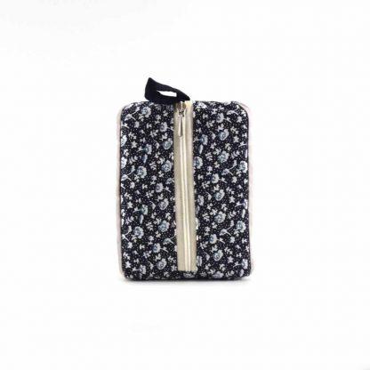 Fekete-barna madaras pikk-pakk táska