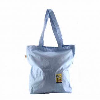 Babakék madaras bevásárló táska