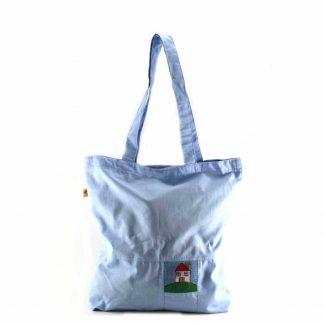 Babakék házas bevásárló táska