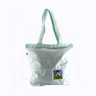 Menta házas bevásárló táska