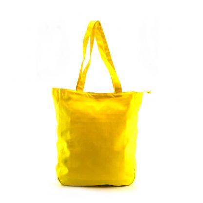 Aranybarna-sárga aranyágas-madaras festett táska