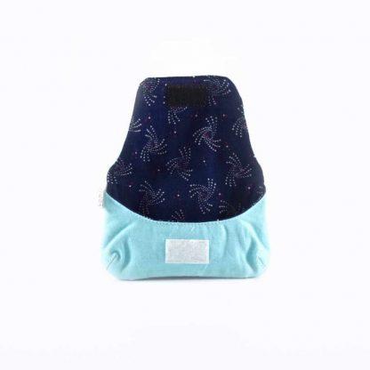 Kék baglyos papírzsebkendő tartó