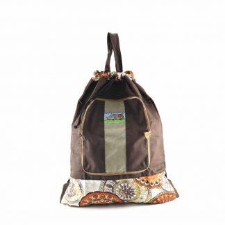Barna sünis pikk-pakk hátizsák