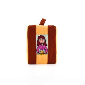 Vörös lányos pikk-pakk táska
