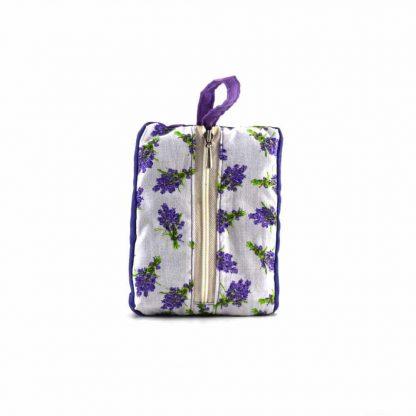 Lila kakasos pikk-pakk táska
