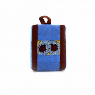 Kék katicás pikk-pakk táska