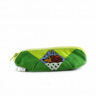 Zöld sünis tolltartó