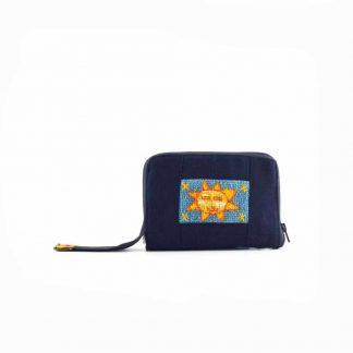 Kék napocskás pikk-pakk táska