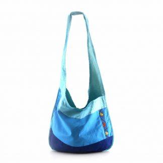 Kék pillangós hobbi táska