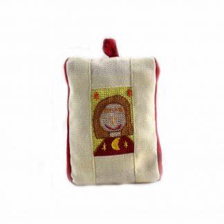 Sárga-piros lányos pikk-pakk táska
