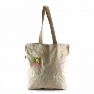 Drapp lányos bevásárló táska