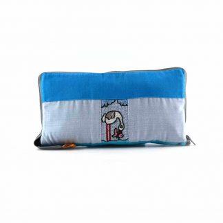 Kék halászmadaras pikk-pakk hátizsák