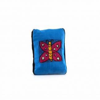 Kék pillangós pikk-pakk táska