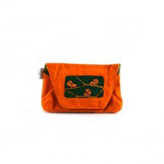 Narancs csigás papírzsebkendő tartó