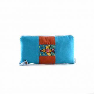 Kék madaras pikk-pakk hátizsák